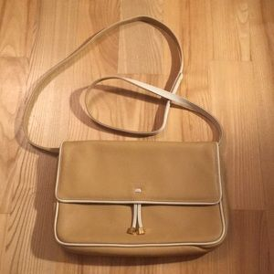 Tous Authentic Beige Clutch Leather Crossbody